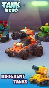 Tank Hero Mod Apk Latest 2021  Unlimited Money, Gems, Credits, Energy 1