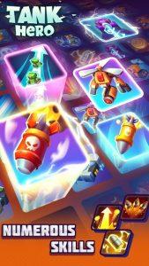 Tank Hero Mod Apk Latest 2021  Unlimited Money, Gems, Credits, Energy 2